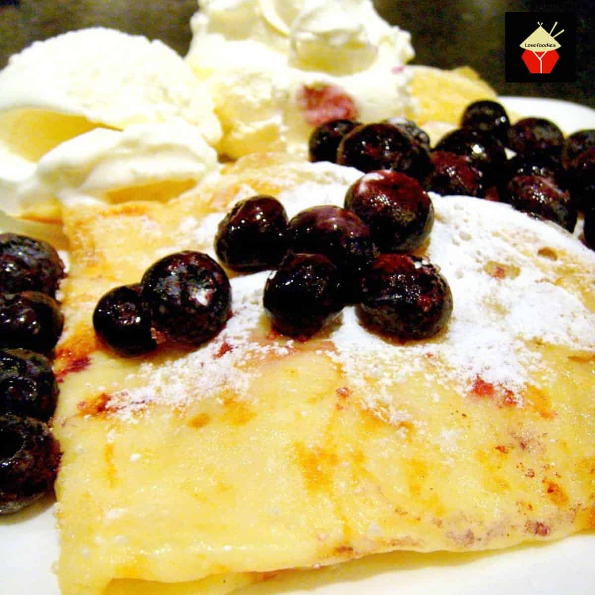 How To Make Crepes or Thin PancakesF