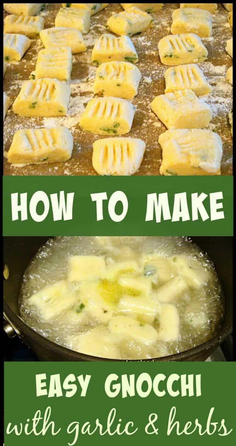 How To Make Easy Gnocchi - Versatile, budget and freezer friendly, uses left over potatoes and YOU choose what flavors you like, Really delicious!