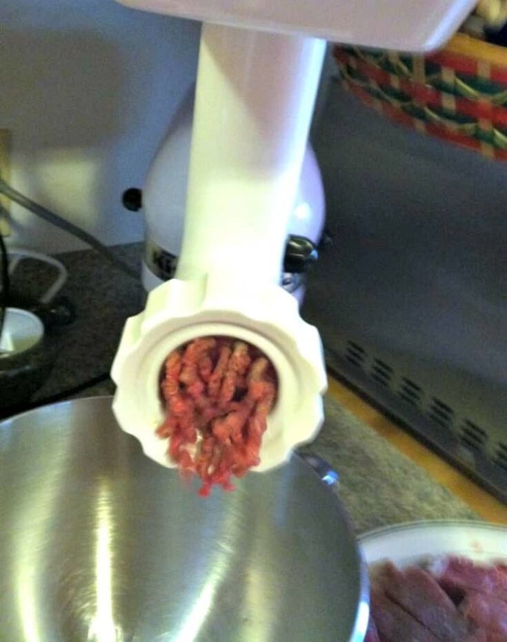 How To Make Home Made Ground Meat7