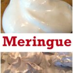 How To Make Meringue - Make a great dessert by adding whipped cream and or ice cream and a sprinkle of fresh fruits or berries. Easy Step by Step Instructions! | Lovefoodies.com