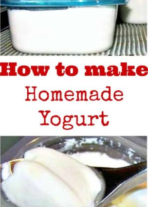 How to make Homemade Yogurt. A very easy guide to making your own yogurt and flexible with so many uses, from breakfasts, baking, desserts, marinades and many savory recipes. Or simply enjoy on it's own with some fresh fruit!