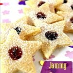 Jammy Butter Cookies