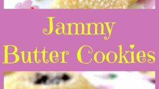 Jammy Butter Cookies