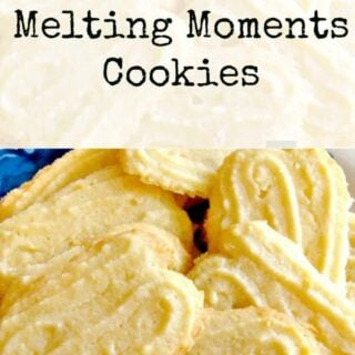 Lemon Melting Moments Cookies