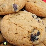 Lemon Raisin Molasses Cookies