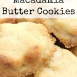 Melting Moment Macadamia Butter Cookies