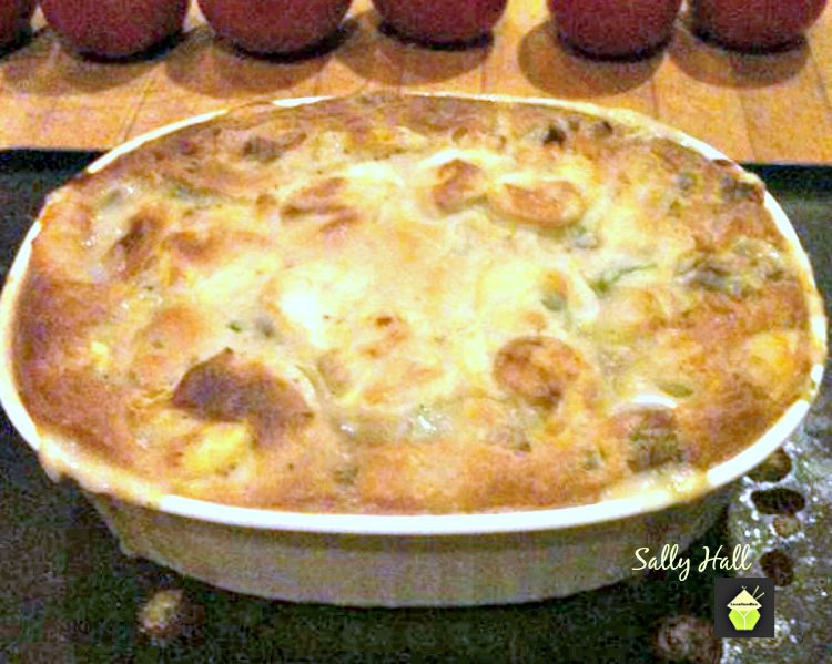 Mom's Chicken Pot Pie An old family recipe and certainly comforting!