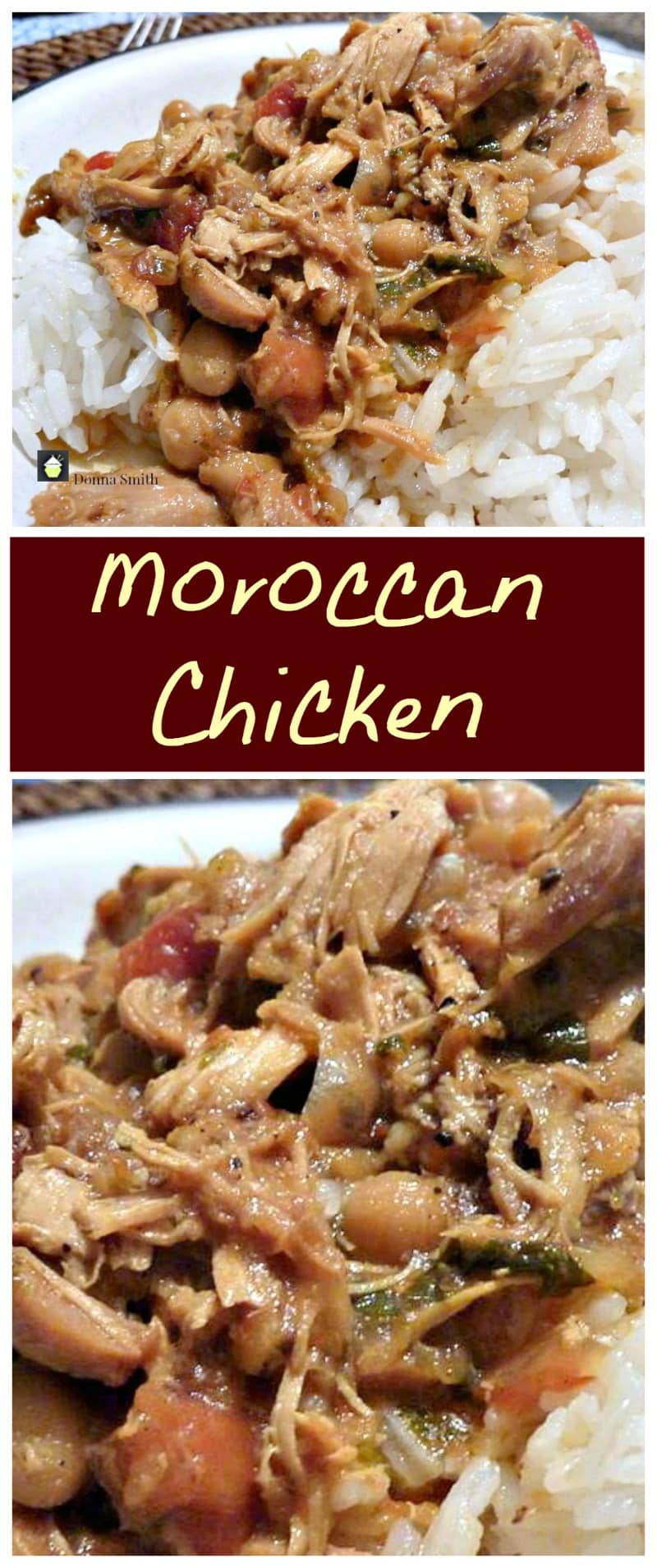 Moroccan Chicken. The flavors in this are amazing and just close your eyes and imagine the aromas coming from this when it's cooking!