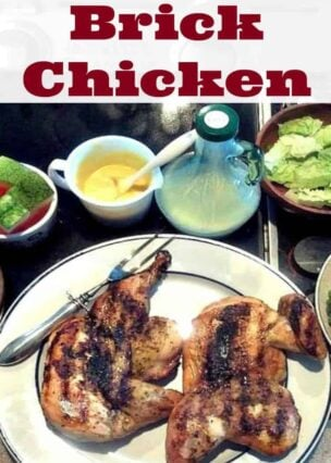 Nanny Pat's Brick Chicken! This is a great way to cook your chicken faster on the grill and keep in all those lovely juices and flavors. So grab some brinks and let's grill!