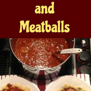 Nanny's Spaghetti Sauce and Meatballs is a popular recipe with her family. the grand kids absolutely love it! Easy to make, freezer friendly and always a hit!