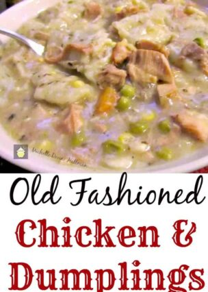 Old Fashioned Chicken and Dumplings is a fabulous old family recipe,all made from scratch and tastes so good!