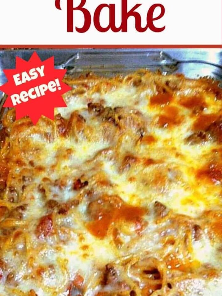 Pasta Bake - A quick and easy dinner full of tasty treats!
