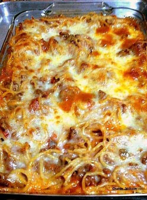 Pasta Bake - A quick and easy meal full of tasty treats!   Lovefoodies.com