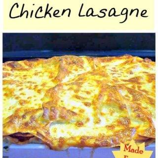 Real Homemade Chicken Lasagne