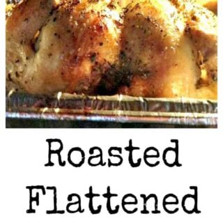 Roasted Flattened Chicken