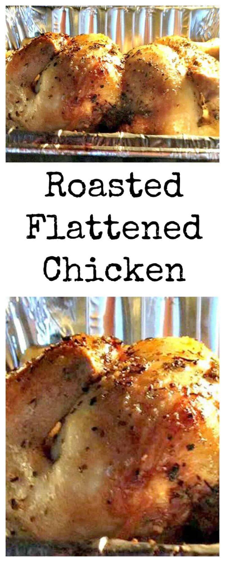 Roasted Flattened ChickenPTL