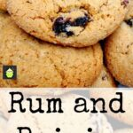 Rum and Raisin Cookies