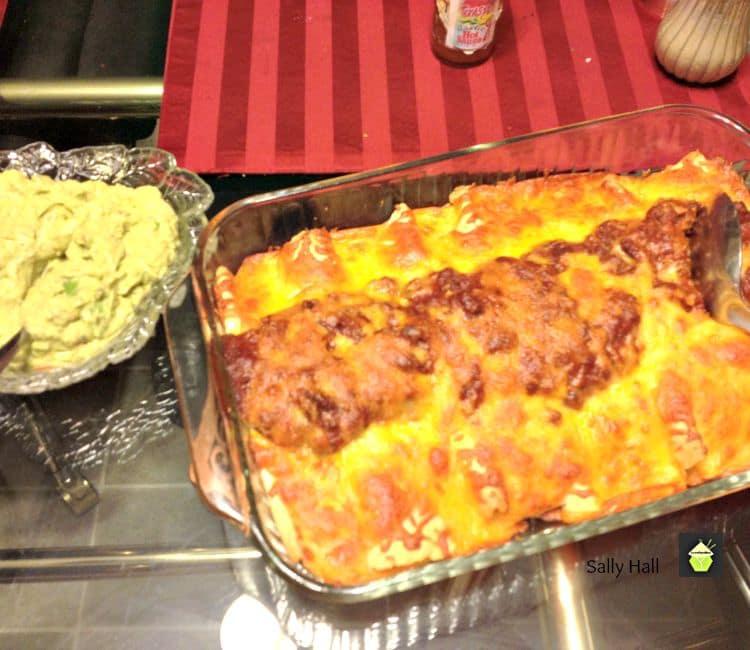 Southwest Enchiladas - Dinner in under 30 minutes!