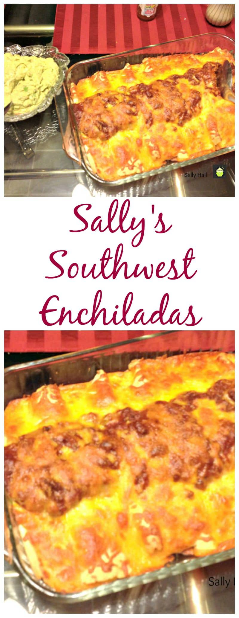 Southwest Enchiladas - Dinner in under 30 minutes!
