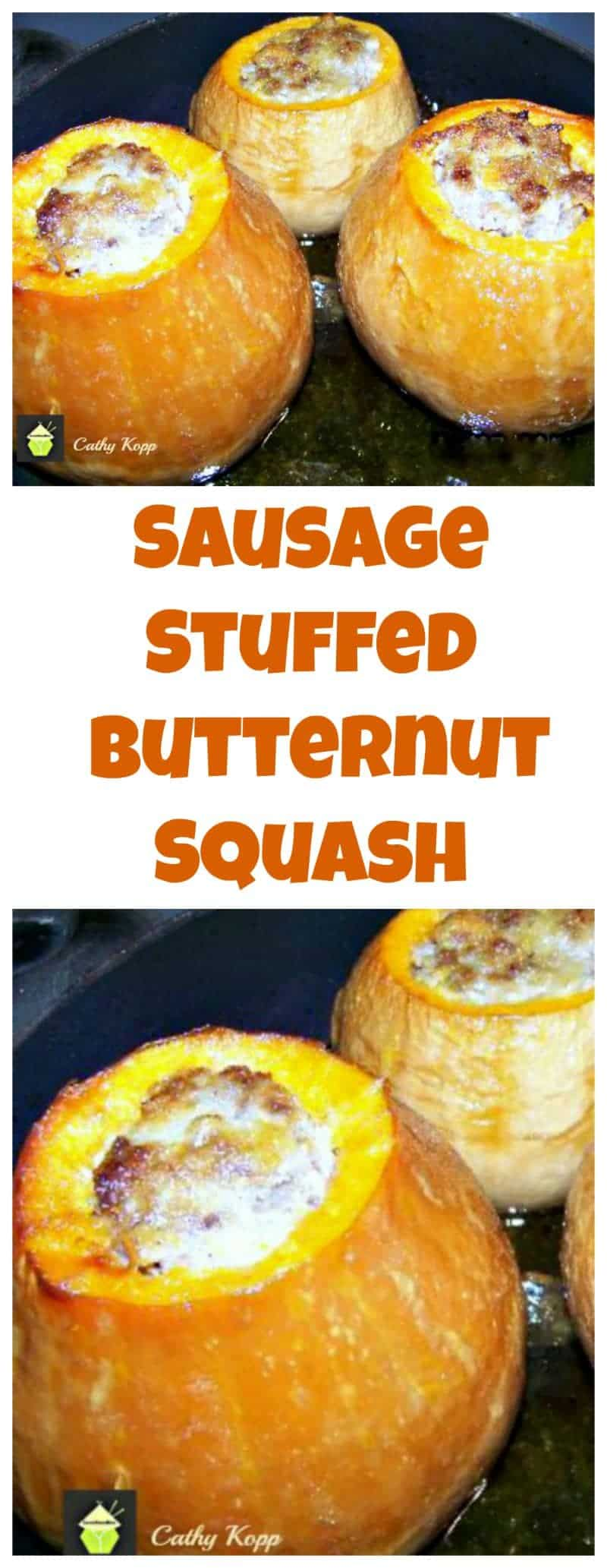 Sausage Stuffed Butternut Squash . A very easy recipe and great tasting!