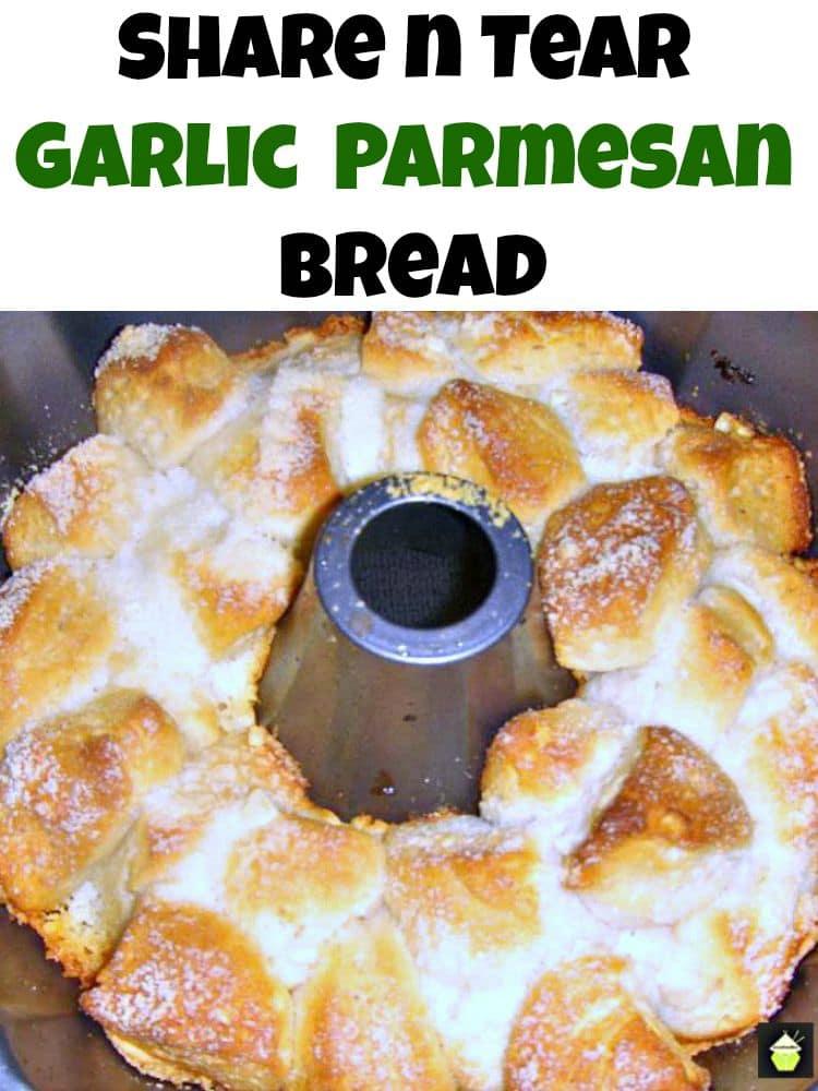 Share n Tear Garlic & Parmesan Bread