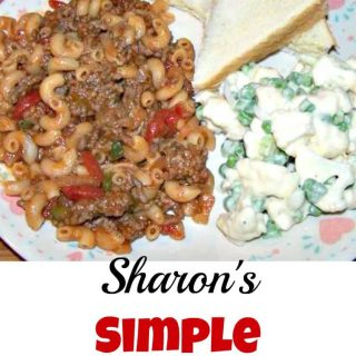 Sharon's Simple Goulash