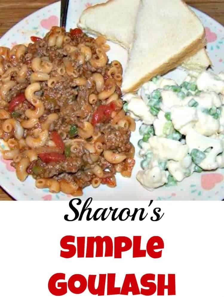 Simple Goulash. Easy, family & budget friendly and always very tasty!