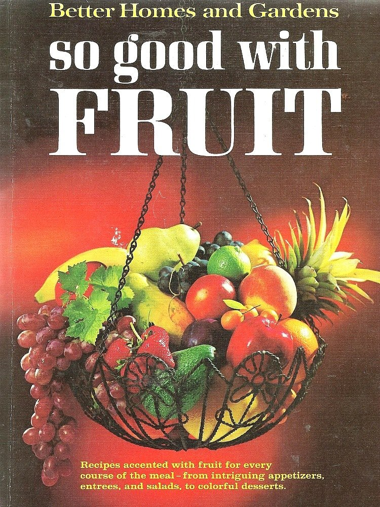 So Good With Fruit Book
