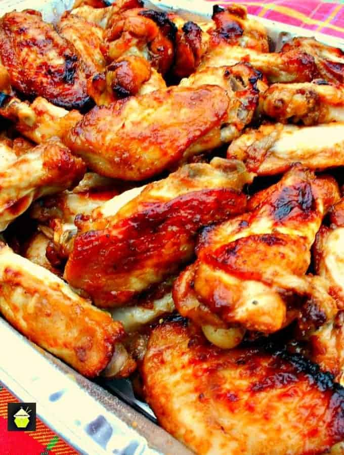 Oh So Good Jack Daniel's Chicken Wings are fabulous! They're easy to ...