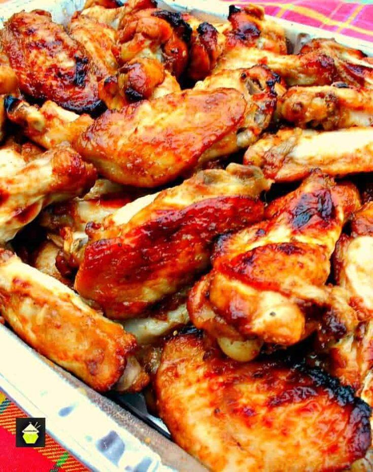 Oh So Good Jack Daniel's Chicken Wings