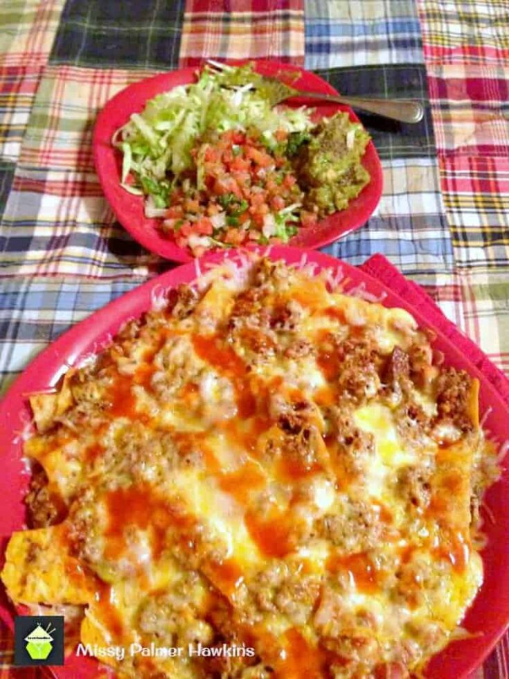 Spicy Beef and Bean Nachos 1