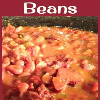 Missy's Spicy Crock Pot Beans