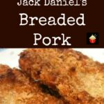 Tasty Breaded Pork. This has got a great flavor twist using Jack Daniel's and is so juicy and delicious!