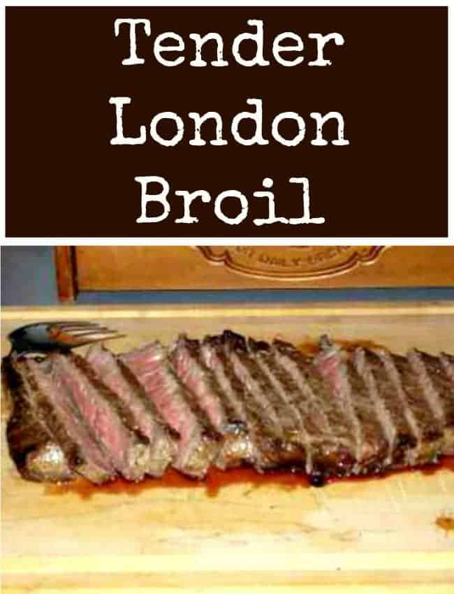 Here's a great marinade to get your beef nice and tender ready for the grill!