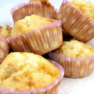 White Chocolate and Macadamia Muffins