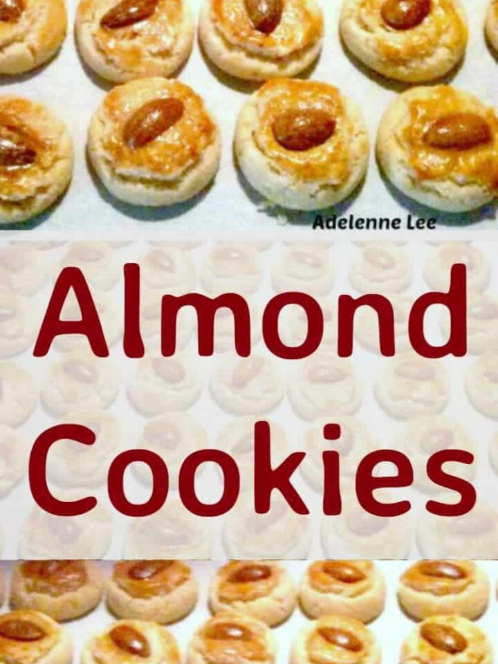 Almond Cookies - These cute cookies are so addictive, be sure to make plenty!