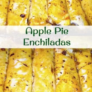 Apple Pie Enchiladas