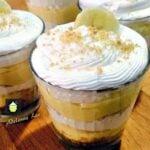 Easy Banana Cream Pie Cups