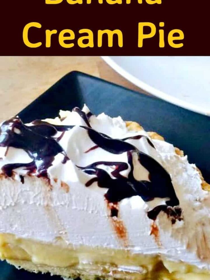 Banana Cream Pie - Easy and very delicious!