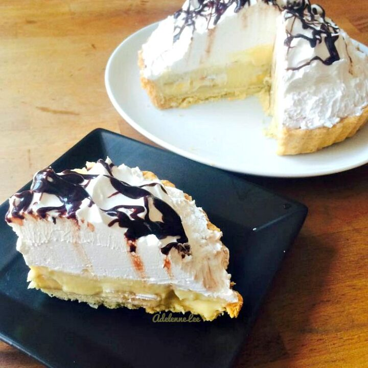 Banana Cream Pie, made from scratch, VERY easy and oh so delicious! Perfect for Easter, Thanksgiving, potlucks and BBQ's too!