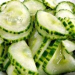 The Best Easy Cucumber Salad