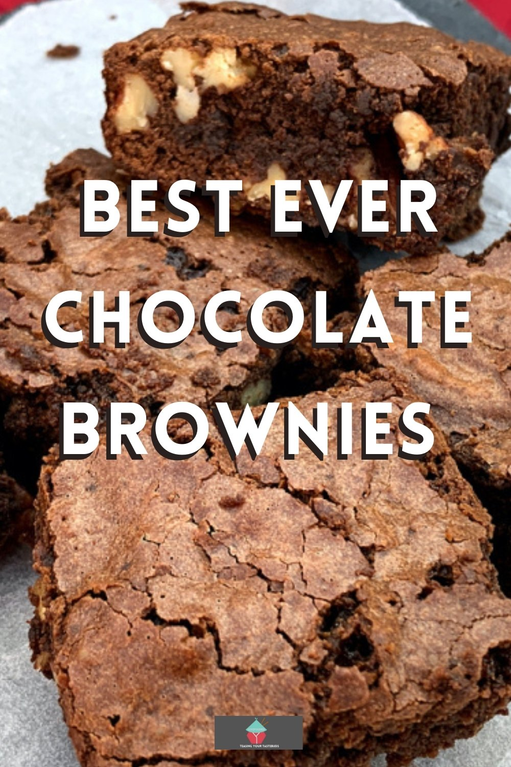 Best Ever Chocolate Brownies. Best ever chocolate brownies recipe, easy, fudgy, gooey brownies, made from scratch. These rich in chocolate chewy brownies are delicious served warm with whipped cream.