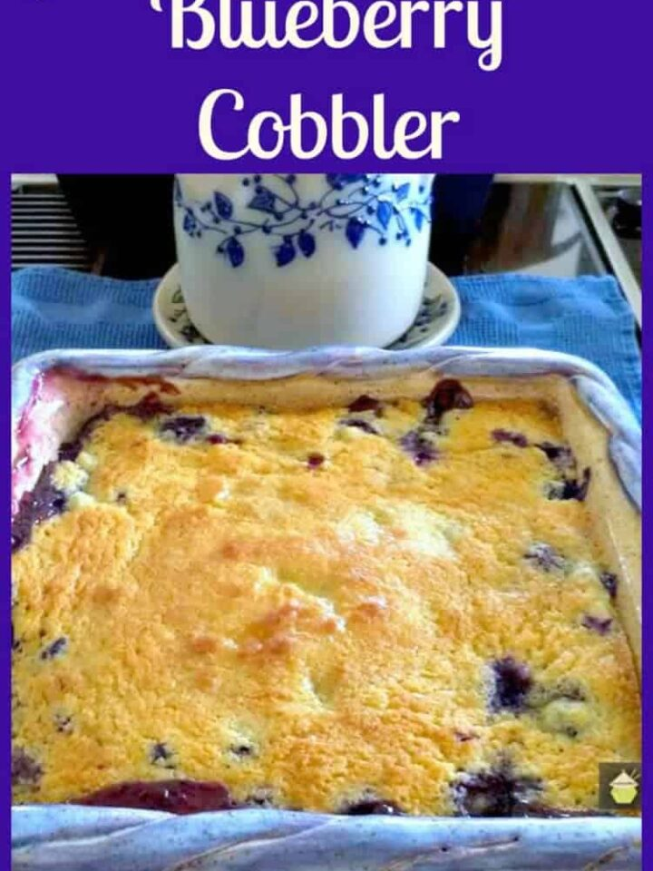 Papa's Blueberry Cobbler - A great dessert, serve warm with lovely scoop of ice cream.