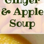 Carrot, Ginger & Apple Soup Easy recipe with wonderful flavors.