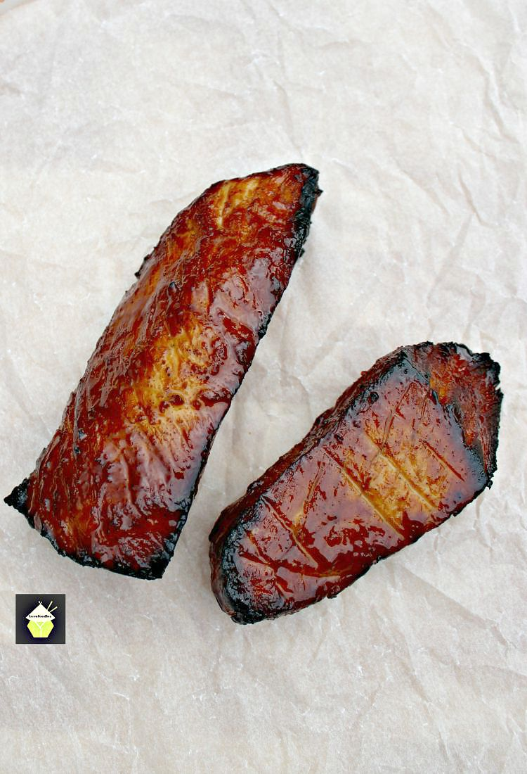 Char Sui Pork, Chinese Barbecue Pork is a delicious recipe, full of flavor. It's sticky, sweet and slightly caramelised and goes perfect with a bowl of ramen, fried rice or simply eaten on it's own as an appetizer!