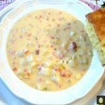 Prize Winning Cheddar & Ham Chowder. Really delicious!