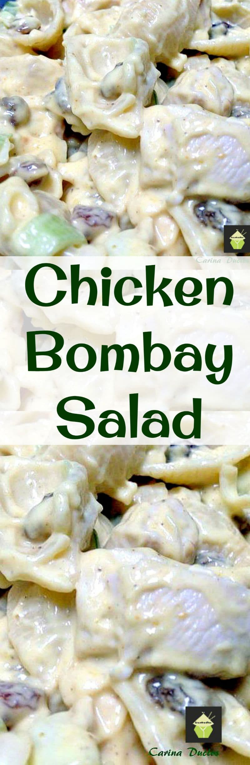 Chicken Bombay Salad A delicious, popular salad, easy and quick too!
