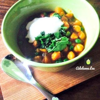 Chickpeas and Potato Curry