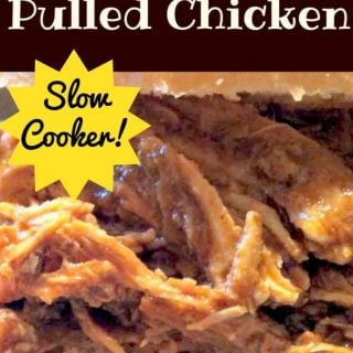 Chinese Style Slow Cooker Pulled Chicken. Great flavors and always a hit with the crowds!