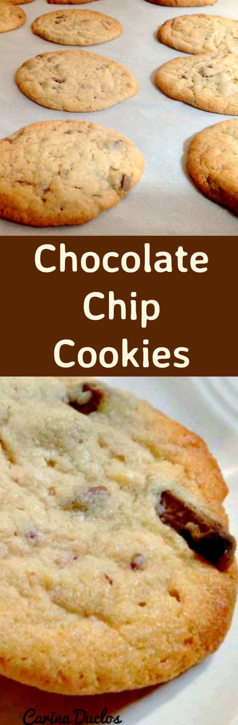 Chocolate Chip Cookies - Incredibly Quick & Easy to make and of course DELICIOUS!!